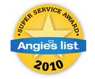 Angie's List 2010 Super Service Award